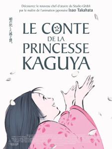 Le conte de la princesse Kaguya_affiche