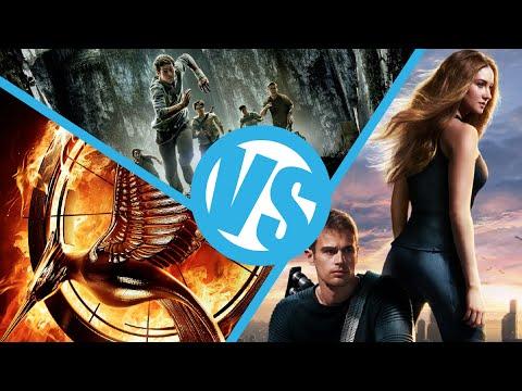 Divergent Maze Runner Hunger Games
