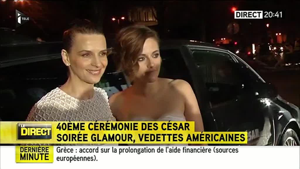 Juliette Binoche et Kristen Stewart