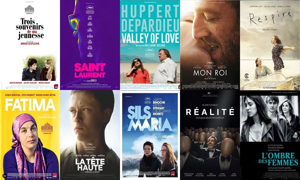 Les10filmsfrançais2015