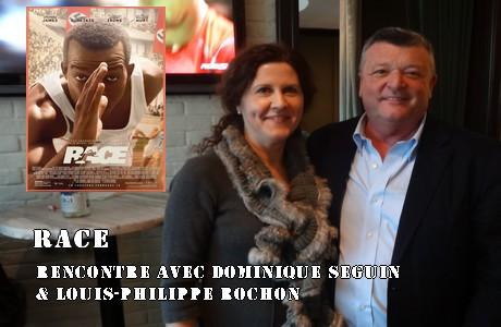 Dominique Séguin et Louis-Philippe Rochon