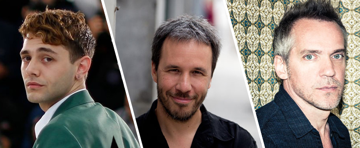 Xavier Dolan, Denis Villeneuve et Jean-Marc Vallée
