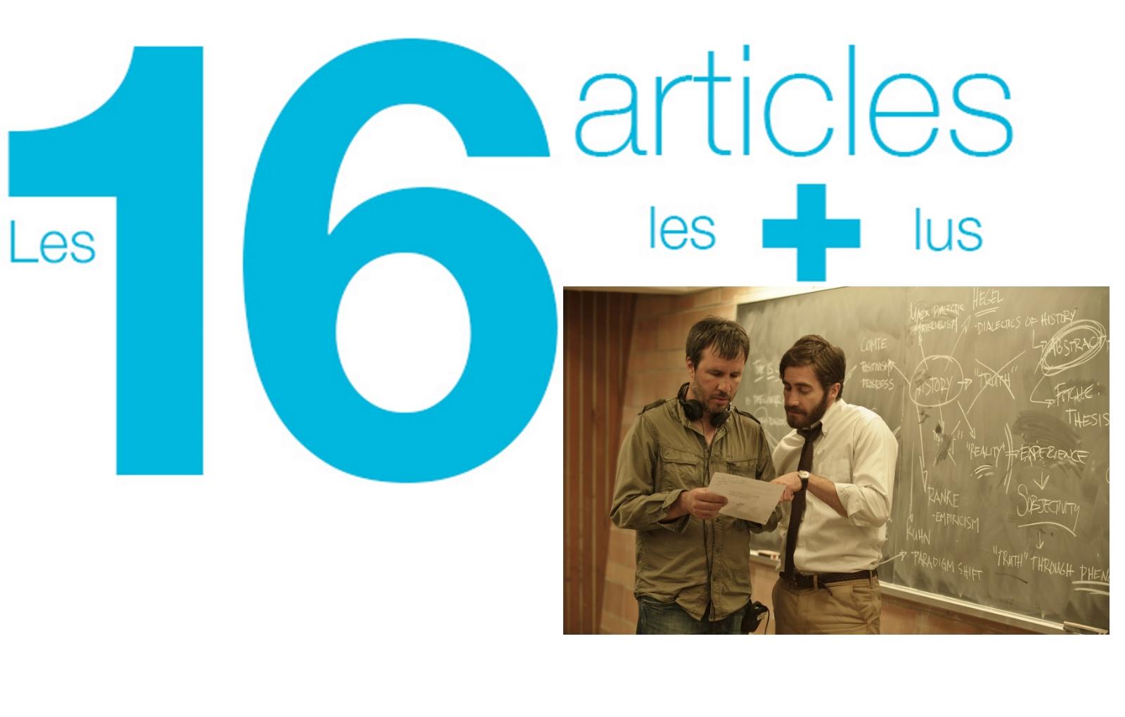 Les 16 articles les plus lus depuis cinq ans (les 5 ans de cinémaniak)