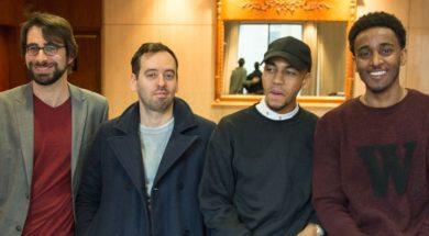 Darren Curtis, Nabil Rajo et Jahmil French pour le film Boost