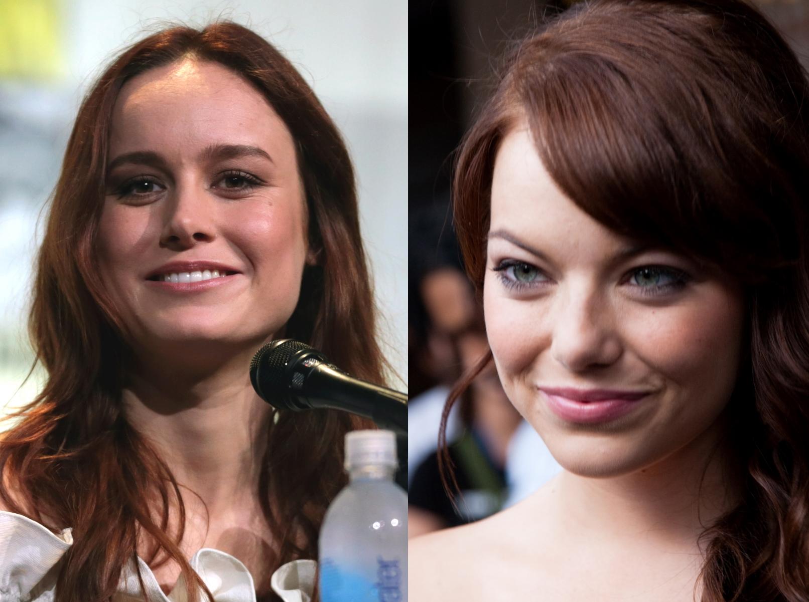cinéma américain: Brie Larson et Emma Stone