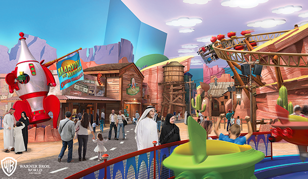 Warner Bros. World Abu Dhabi ouvrira en 2018